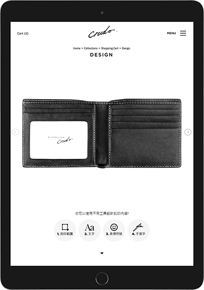 Crudo Leather Craft Official Personalized Leather
